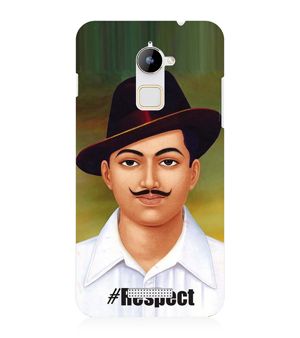Bhagat Singh Back Cover for Coolpad Note 3 Lite
