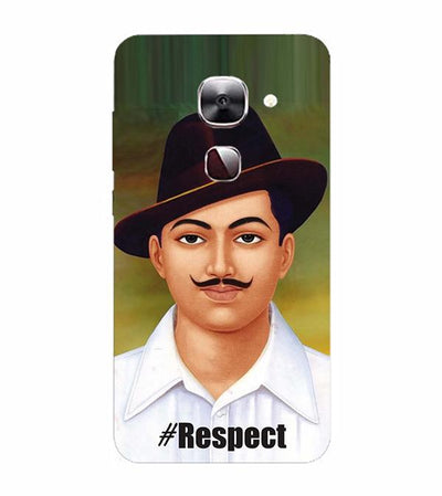 Bhagat Singh Back Cover for LeEco Le 2s