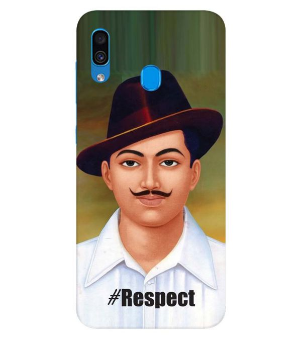 Bhagat Singh Back Cover for Samsung Galaxy A30