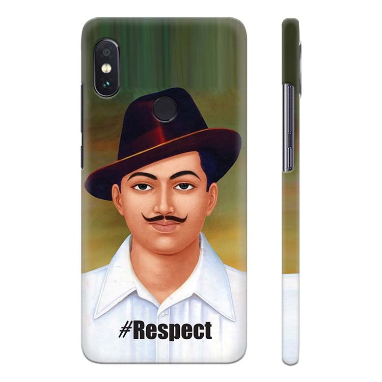 9cd2c4297 Buy Printed Bhagat Singh Customised Cover for Xiaomi Redmi Note 5 ...