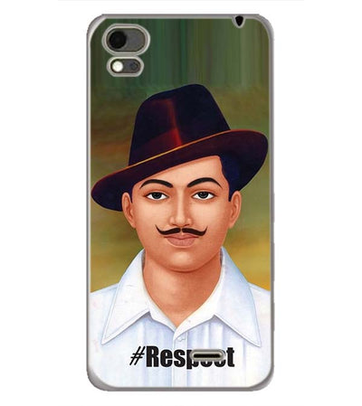 Bhagat Singh Back Cover for Karbonn Aura Note 4G