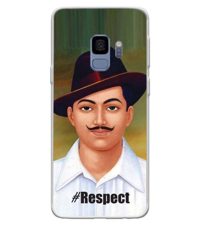 Bhagat Singh Back Cover for Samsung Galaxy S9-Image3