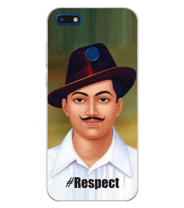 Bhagat Singh Soft Silicone Back Cover for YU Ace