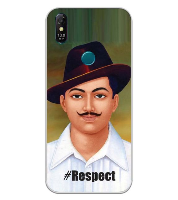 Bhagat Singh Back Cover for Coolpad Cool 3 Plus-Image3