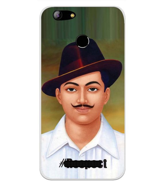 Bhagat Singh Back Cover for Intex Aqua Lions X1-Image3