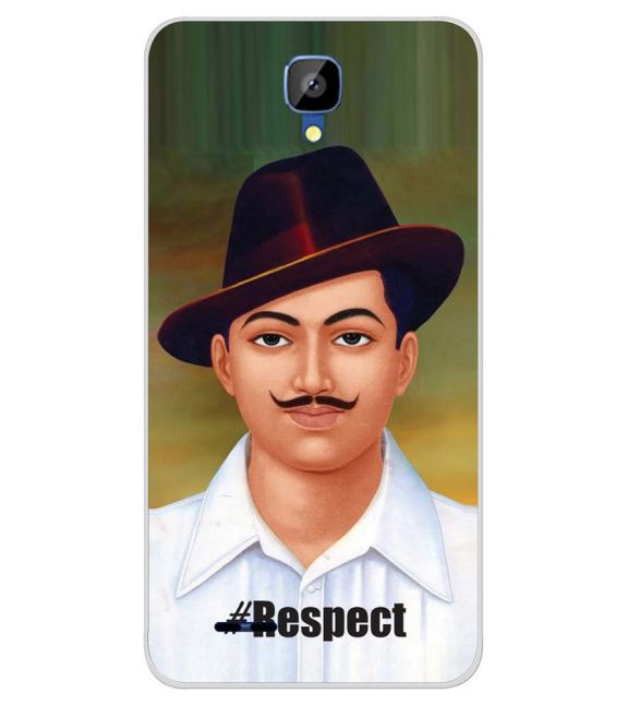 Bhagat Singh Back Cover for Karbonn Aura Champ-Image3