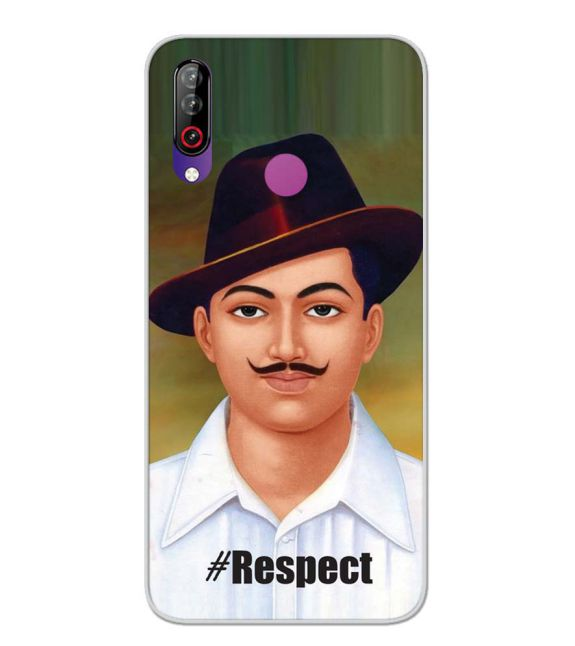 Bhagat Singh Back Cover for LG W30-Image3