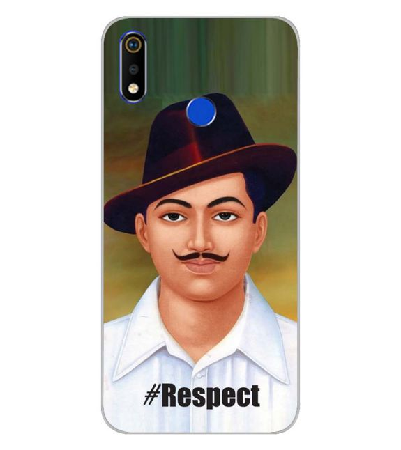 Bhagat Singh Back Cover for Realme 3i-Image3