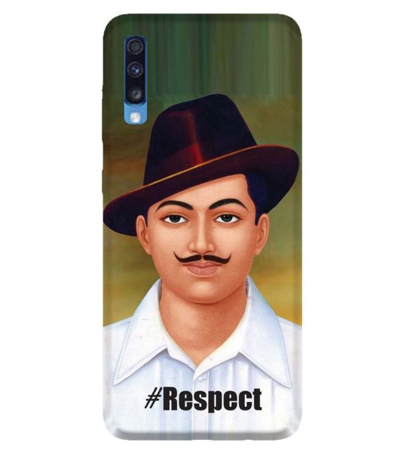 Bhagat Singh Back Cover for Samsung Galaxy A70