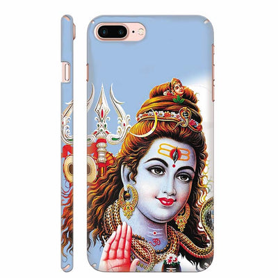 Bhagwan Shiv Back Cover for Apple iPhone 8 Plus