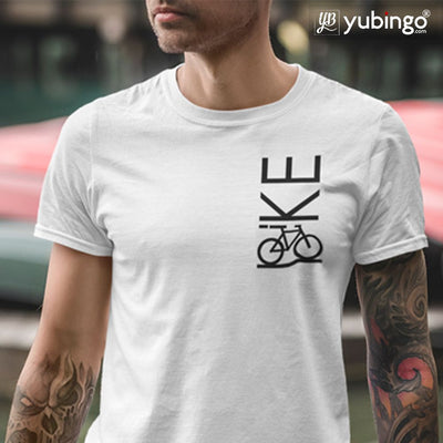 Bike Love T-Shirt-White