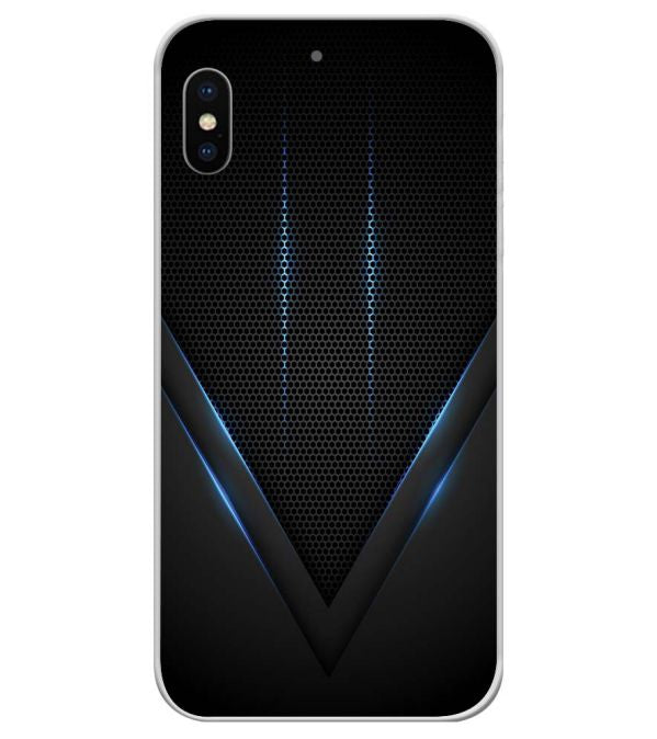 huge discount 4d1d1 9c148 Black and Blue Soft Silicone Back Cover for Coolpad Note 6