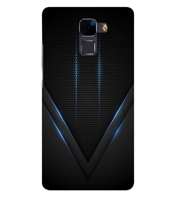 low priced 08fb2 db544 Black and Blue Back Cover for Huawei Honor 7