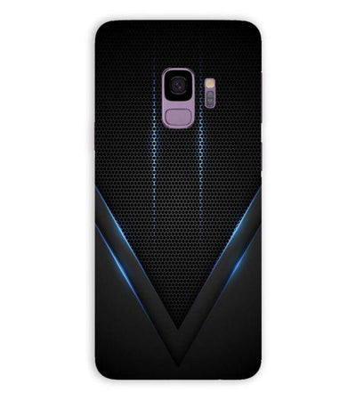 Black and Blue Back Cover for Samsung Galaxy S9