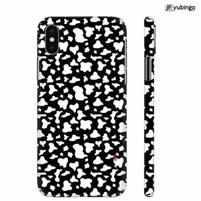 Black And White Pattern Back Cover for Apple iPhone X
