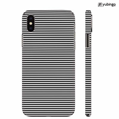 Black Stripes Back Cover for Apple iPhone X