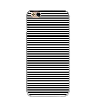 Black Stripes Back Cover for InFocus Bingo 50 Plus