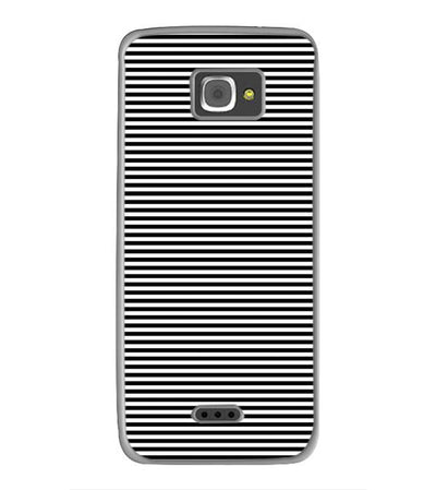 Black Stripes Back Cover for InFocus M350