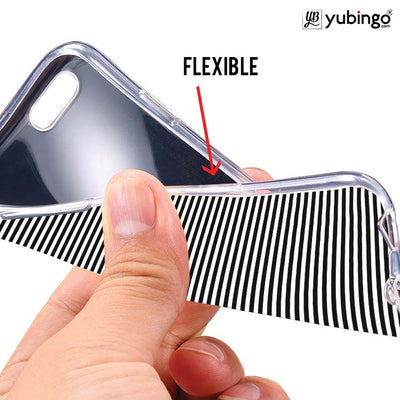 Black Stripes Back Cover for InFocus M350-Image2