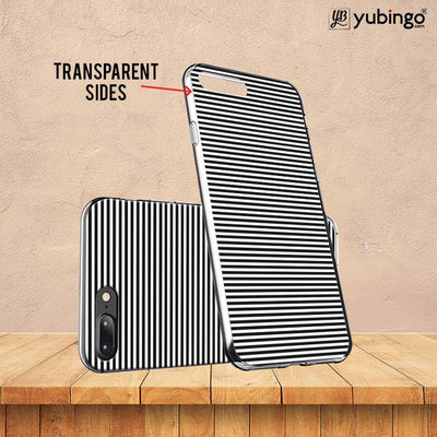 Black Stripes Back Cover for InFocus M350-Image3