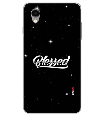 Blessed Back Cover for ITEL PWO Pro