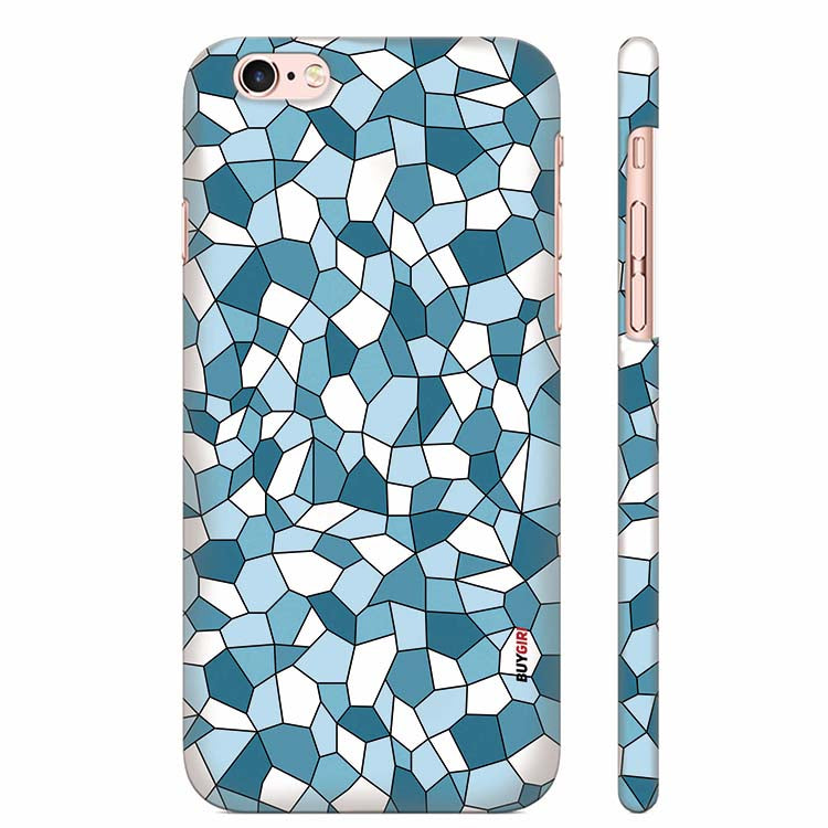 premium selection fbd95 5e60b Blue Mosaic Back Cover for Apple iPhone 6 Plus and iPhone 6S Plus