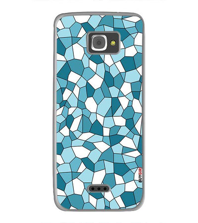 Blue Mosaic Back Cover for InFocus M350