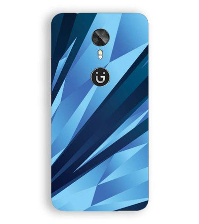 Blue Pattern Back Cover for Gionee A1