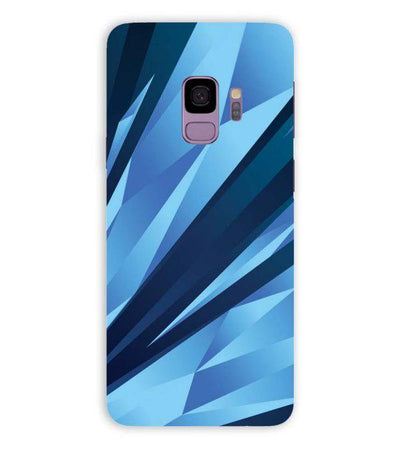 Blue Pattern Back Cover for Samsung Galaxy S9