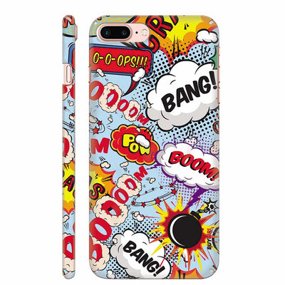 Boom Bang Back Cover for Apple iPhone 8 Plus