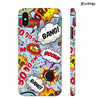 Boom Bang Back Cover for Apple iPhone X