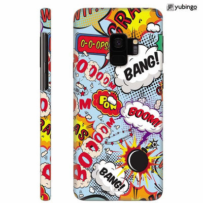 Boom Bang Back Cover for Samsung Galaxy S9