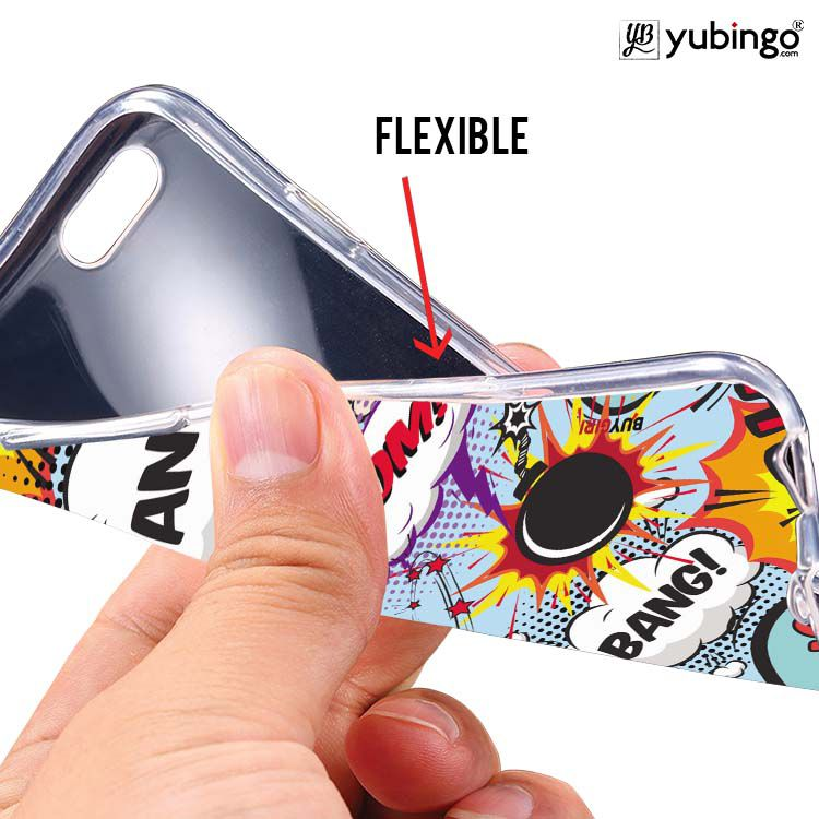 Boom Bang Soft Silicone Back Cover for Itel A62