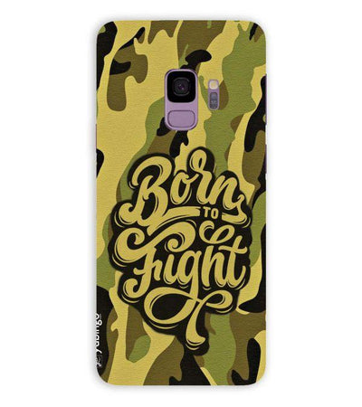 Born to Fight Back Cover for Samsung Galaxy S9