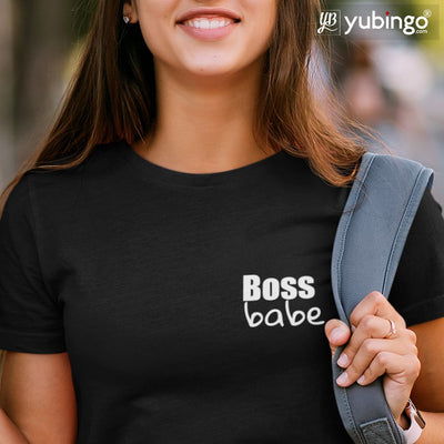 Boss Babe T-Shirt-White
