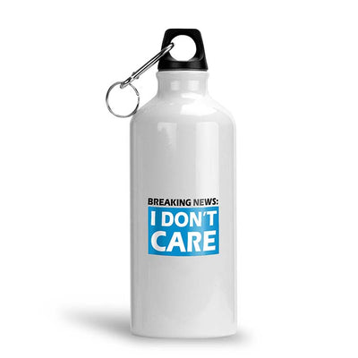 Breaking News Water Bottle