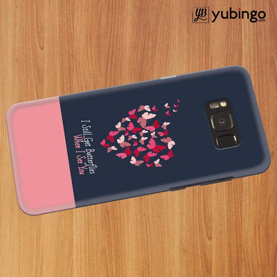 Butterflies on Seeing You Back Cover for Samsung Galaxy S8 Plus-Image3