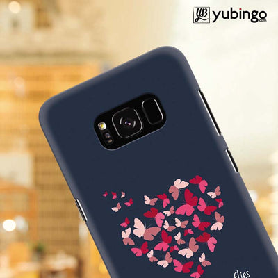Butterflies on Seeing You Back Cover for Samsung Galaxy S8 Plus-Image4