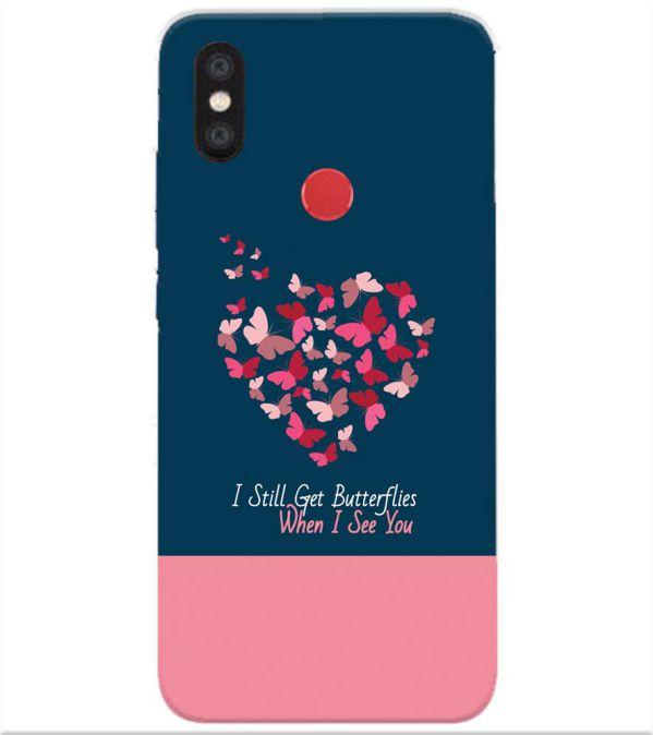 newest db7fd d6bf3 Love Collection Back Cover for Xiaomi Redmi Y2