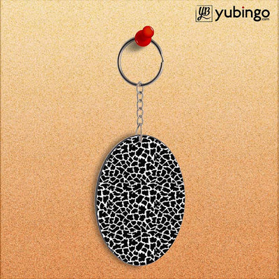 Animal Pattern Oval Key Chain-Image2