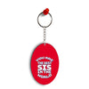 Best Sister In The World Oval Key Chain