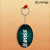 Boss Oval Key Chain-Image2