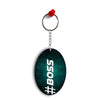 Boss Oval Key Chain