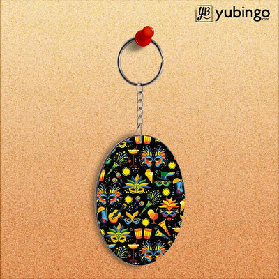 Brazil Oval Key Chain-Image2