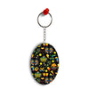 Brazil Oval Key Chain