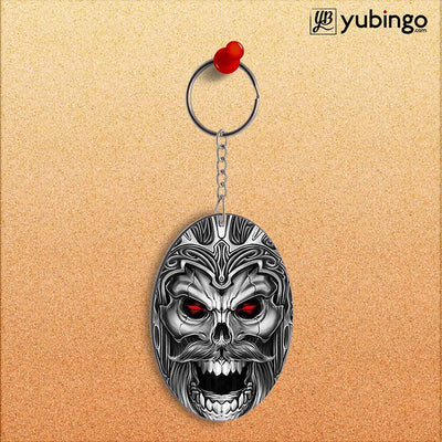 Cool Monster Oval Key Chain-Image2