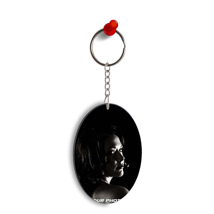 Create Your Own Oval Key Chain