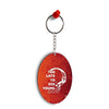 Die Young Oval Key Chain