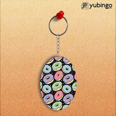 Donuts Oval Key Chain-Image2
