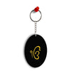 Ek Onkar Oval Key Chain